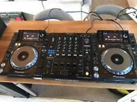 2 x Pioneer CDJ 2000 Nexus Pair + DJM 900 Nexus Mixer Full DJ SETUP