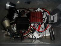 JOB LOT OF CB RADIO ITEMS SOLARCON ANTRON A99 MICS BURNER ECT