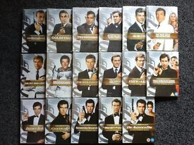 Two-Disc Ultimate Edition James Bond DVD's - Excellent Condition