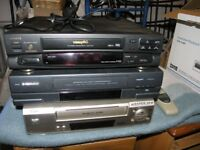 3 VHS Video Recorder / Players and Tapes Weymouth