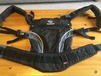 Manduca Baby Carrier (Used) in Black/Grey