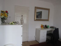 Double room- QUIET ROOM- £100 pm (short term or long term considered)