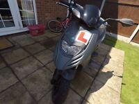 Piaggio 50cc moped
