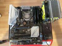 Asus Z170-A + 6600k + 16gb DDR4 bundle