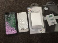 Brand new and used iPhone 4/5/6 cases.