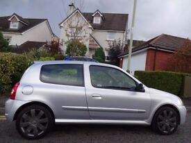 (2005) RENAULT Clio 2.0 182 Cup RenaultSport 1 OWNER, 40,000 MILES, FREE DELIVERY/MOT/TAX/FUEL
