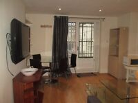 Short Term / A very spacious modern 1 bedroom apartment with extra sleeping or study room