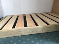 Low bed frame