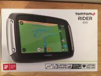 Tomtom Rider 400 Sat Nav Full Europe Lifetime Maps