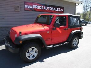 2013 Jeep Wrangler SPORT - SOFT TOP