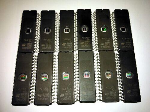 12 ST M27C4001-15F1 27C4001 27C401 27C040 4Mb (512KB) EPROM