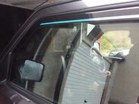 Wind deflectors for Suzuki Jimny
