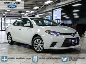 2016 Toyota Corolla LE, LED lights, Back up camera, Bluetooth