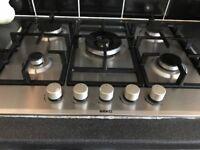 Beko stainless steel 5 burner gas hob for sale