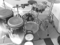 Conga/Bongo/Timbales/Drums/Percussion Lessons