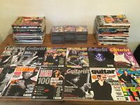 Guitarist and total guitar magazine collection