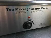 Top Massage hot stone heater