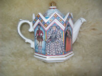 Collectable Staffordshire Sadler Teapot Elizabeth I Fighting The Spanish Armada