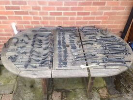 Cast Iron window and door fittings, good used condition but