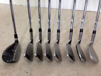 Wilson Pro Staff Golf Clubs 5, 6, 7, 8, 9, Pitching Wedge, Sand Wedge Irons & 3 Hybrid Wood