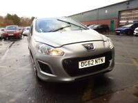 PEUGEOT 308 1.6 HDi 92 Access 5dr (silver) 2012