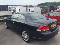 2006 VOLVO C70 2.5 T5 SE LUX GEARTRONIC AUTO CONVERTIBLE TOP TOP SPEC FSH CAMBELTED STUNNER PX SWAPS