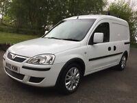 Vauxhall combo van 2010 SE model fsh 79k miles -suitable for food industry