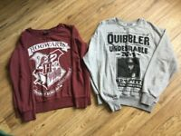 Harry Potter authentic clothing, all excellent condition