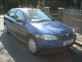2001 51 VAUXHALL ASTRA 1.6 CLUB 5 DOOR MOT NOV 2018
