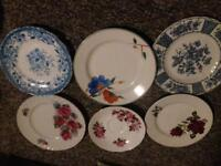 China plates and saucer