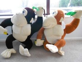 LARGE MONKEY TEDDY/PLUSH CHARACTER CO APPROX 3 foot tall