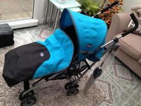 Child's push chair by Chicco