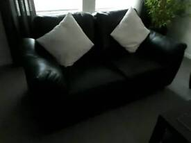 2 seater sofa not leather sold
