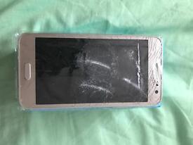 Samsung galaxy a3 smashed screen