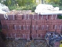 Handmade New The Tudor Tile Company Clay Roof Tiles 6 1/2 x 10 1/2 Still Banded