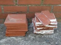 Terra Cotta tiles - new and used bundle