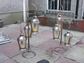 garden display lantern