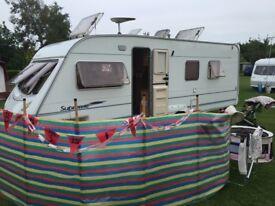 Ace supreme globestar twin axle caravan (2006)