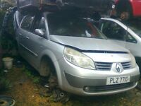 2005 RENAULT GRAND SCENIC 1.6 16V PETROL Breaking ALL PARTS AVAILABLE