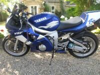 1999 Yamaha R6 5eb