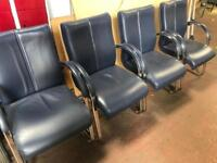 Navy Leather Executive Chairs