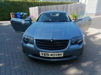 Chrysler, CROSSFIRE, 2004, Manual, 3199 (cc), 2 doors (badged SRT6 / AMG) Coupe