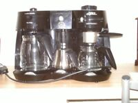 Morphy Richard Mister cappuccino expresso and filter coffee maker
