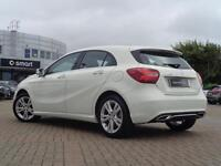 Mercedes-Benz A Class A 180 D SPORT PREMIUM PLUS (white) 2017-06-30