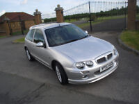 MG ZR 1.4 3 DOOR LOW MILEAGE