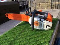 Stihl MS201T35.2cc Top Handle Arborist Petrol Chain Saw. in amazing condition