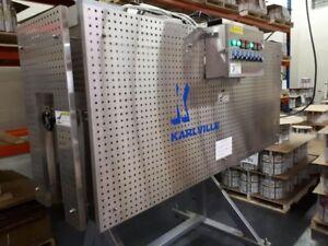 Double fan electric heat tunnel