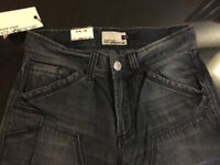 Brand New - Energie (Mens Miss Sixty) Jeans - Size 29W 34L - Dark Blue - Loose Fit - RRP £65
