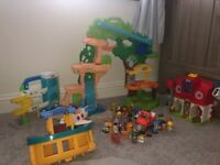 Happyland and little people toys