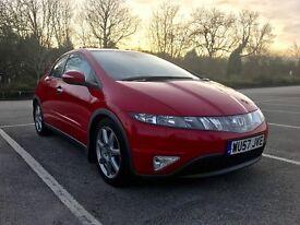 2007 (57) Honda Civic 1.8 i-VTEC EX Hatchback i-Shift 5dr